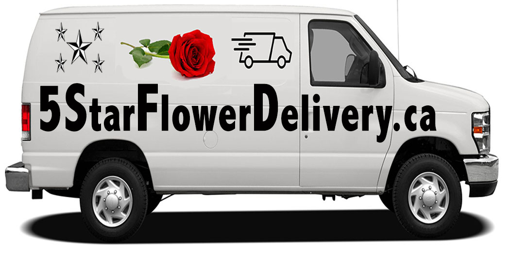 5 Star Flower Delivery Canada